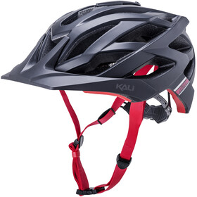 Kali Lunati Sync Helm matt black/red